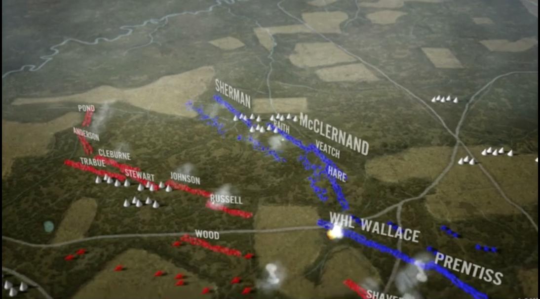 Civil War Battles Map Battles of The Civil War